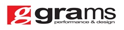 Grams Performance and Design Logo