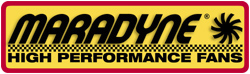 Maradyne High Performance Fans Logo