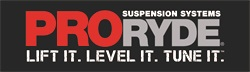ProRYDE Suspension Systems Logo